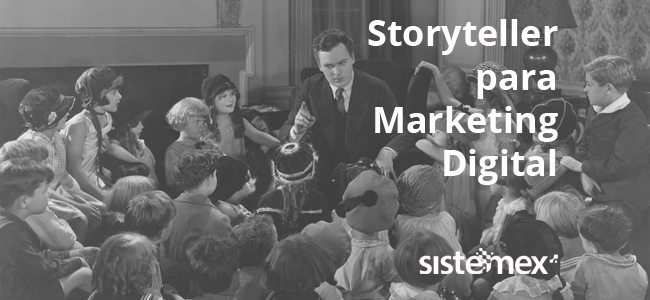 Storyteller para Marketing Digital